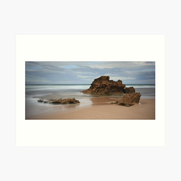 Montforts Beach Art Print