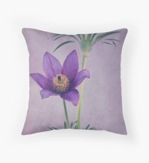 Easter Flower Throw Pillow