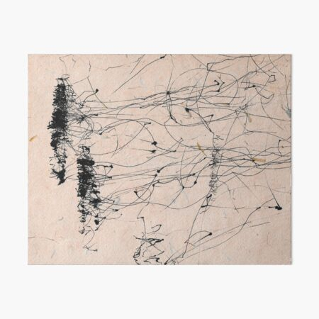 Wind Drawing #004 Art Board Print