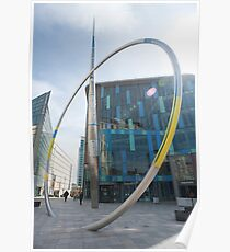 Alliance sculpture, Cardiff Poster