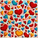 Coloured Hearts ♥ by Chris Baker