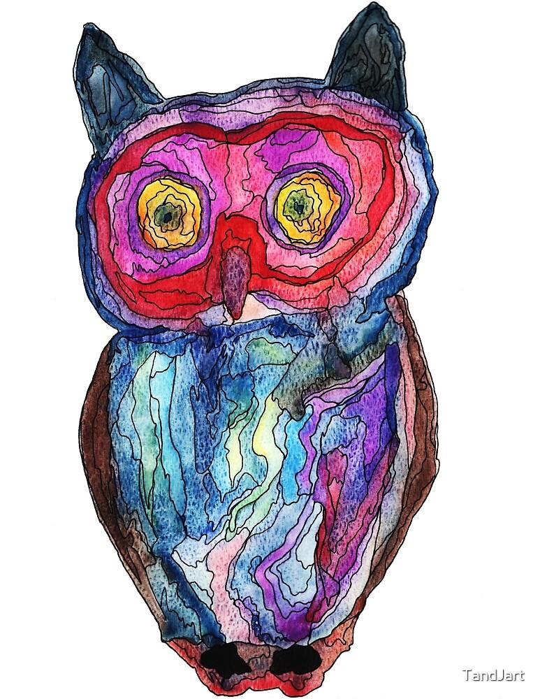 Owl by TandJart