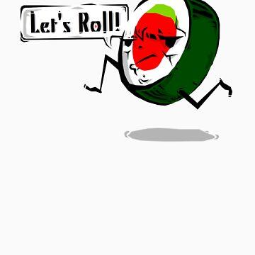 Sushi Roll! by billgaffney