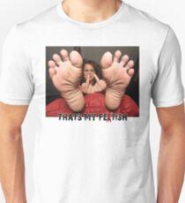 Feet Queen 1 Unisex T-Shirt