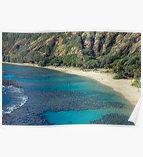 Hanuma Bay Beach Poster