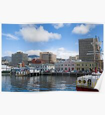 hobart waterfront Poster