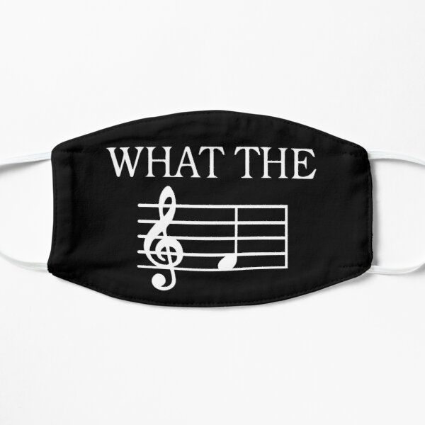 What The F Treble Clef, Pianist, Music Lover , Piano Mask