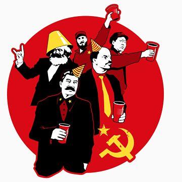 The Communist Party Sticker by tpbiv