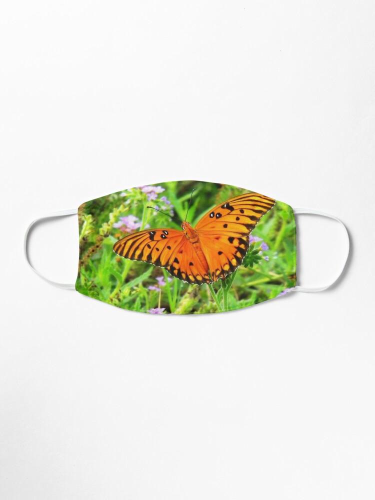 Alternate view of Orange Butterfly Windows From Heaven Mask