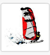 Ink Windsurfer Sticker