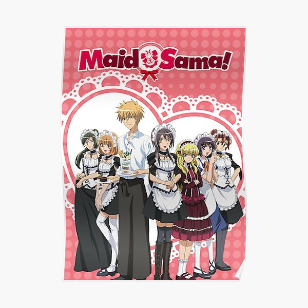 Maid Sama poster Poster