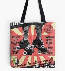 Savannah Derby Devils Final Home Bout (2013) Poster Tote Bag