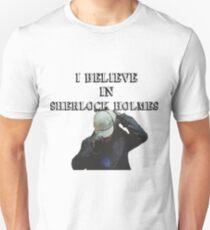 I believe in Sherlock shirt T-Shirt
