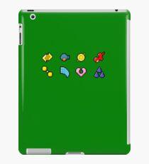 Hoenn Gym Badges (Pixel) iPad Case/Skin