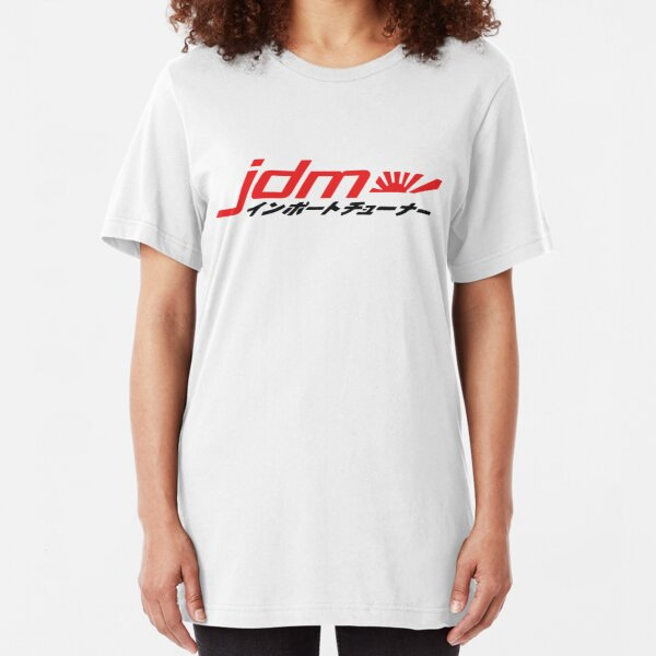 JDM Fanatic Slim Fit T-Shirt