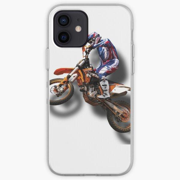 Super T-shirt Moto Cross Coque souple iPhone