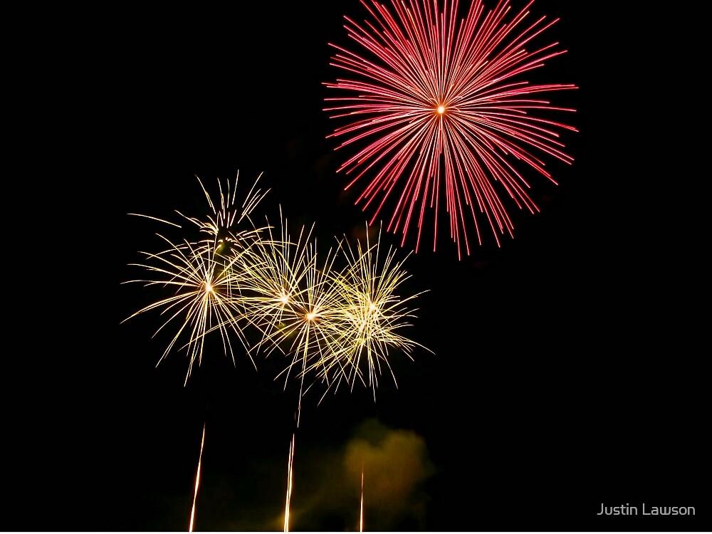 Fireworks 1 by Justin Lawson