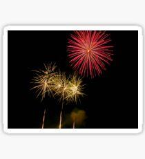 Fireworks 1 Sticker