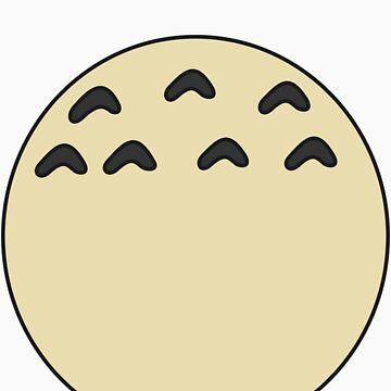 My Totoro belly by james0scott