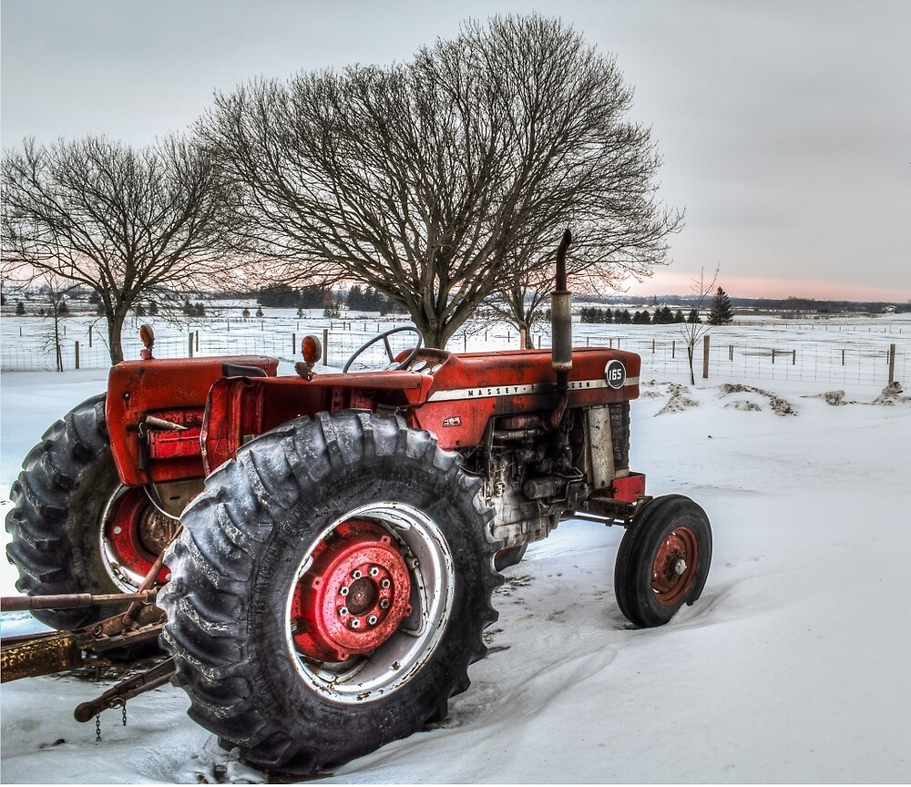 Massey Ferguson 165 by Garvin Hunter Photography