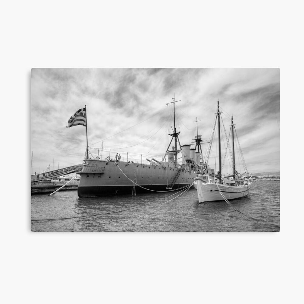 Battleship Averof Leinwanddruck