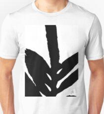 Green Fern Black and White T-Shirt
