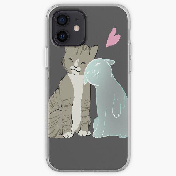 Cat love iPhone Soft Case