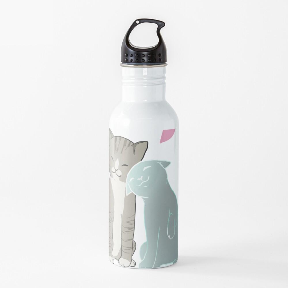 Cat love Water Bottle