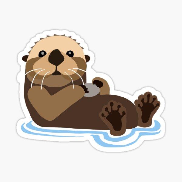 Otter emoji Sticker