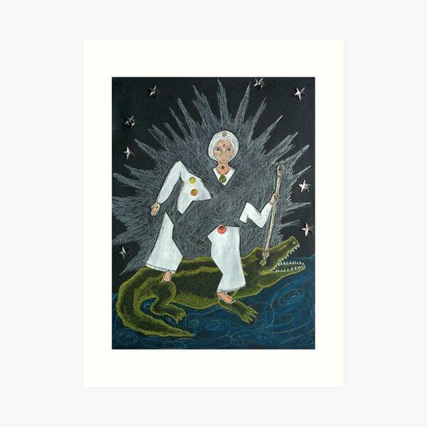 Goddess Akhilandeshvari Art Print