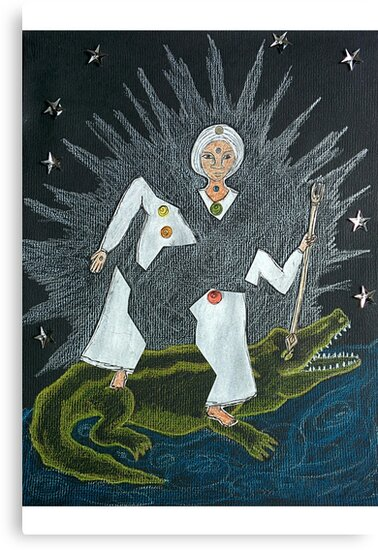 Goddess Akhilandeshvari by GoddessSpiral