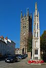 St Marys and the War Memorial by Yampimon