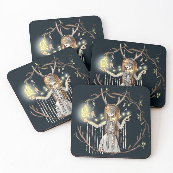 Heilung fanart Coasters (Set of 4)