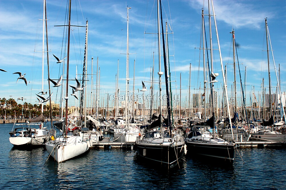 The Harbour Front - Barcelona by rsangsterkelly