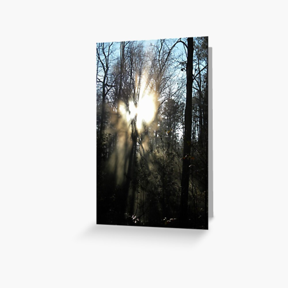 Angel Guidance Windows from Heaven Greeting Card
