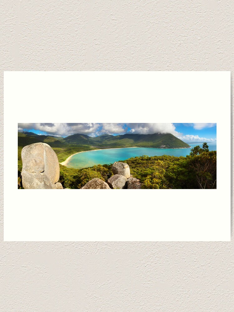 Alternate view of Sealers Cove, Wilsons Promontory, Victoria, Australia Art Print