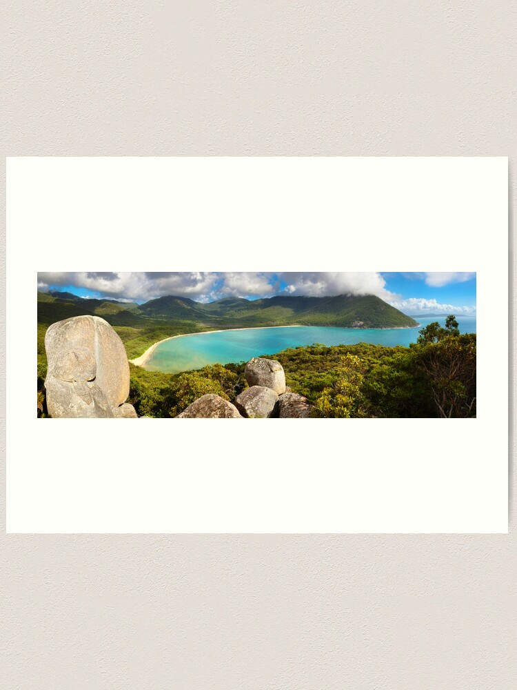 Alternate view of Sealers Cove, Wilsons Promontory, Victoria, Australia Art Print