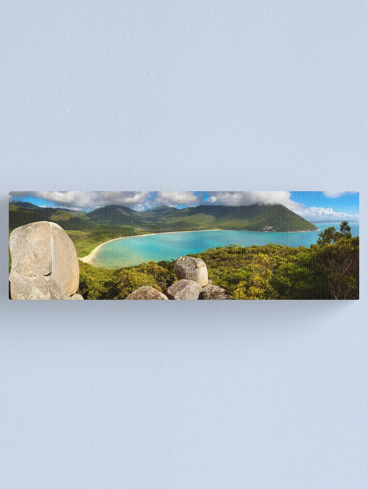 Alternate view of Sealers Cove, Wilsons Promontory, Victoria, Australia Canvas Print