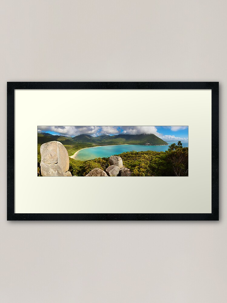 Alternate view of Sealers Cove, Wilsons Promontory, Victoria, Australia Framed Art Print