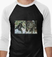 Patty Front and Back Men's Baseball ¾ T-Shirt