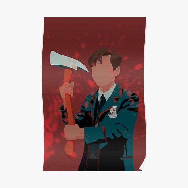 Number Five - Umbrella Academy - Aidan Gallagher Póster
