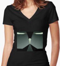 Power On Women's Fitted V-Neck T-Shirt