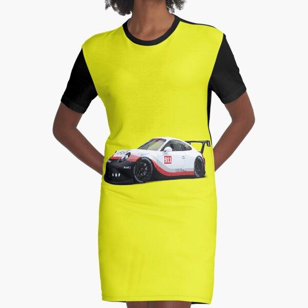 porsche Graphic T-Shirt Dress