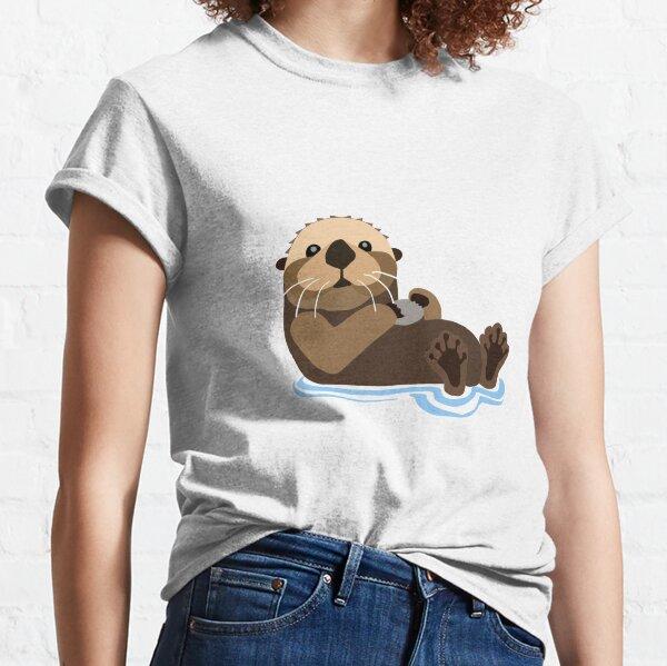 Otter emoji Classic T-Shirt