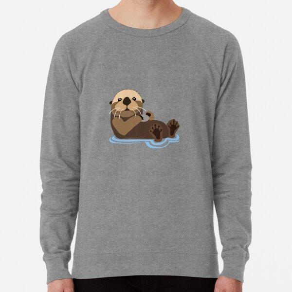 Otter emoji Lightweight Sweatshirt