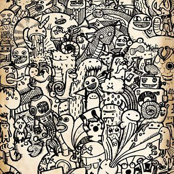 Black Doodle by NeleVdM