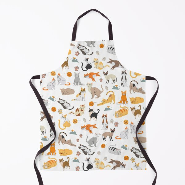 A Crowd of Cats Apron
