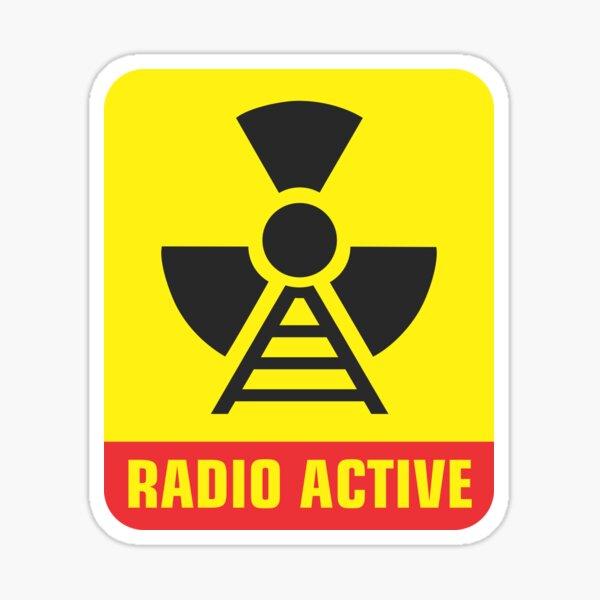 Operador de radioaficionado activo por radio Pegatina