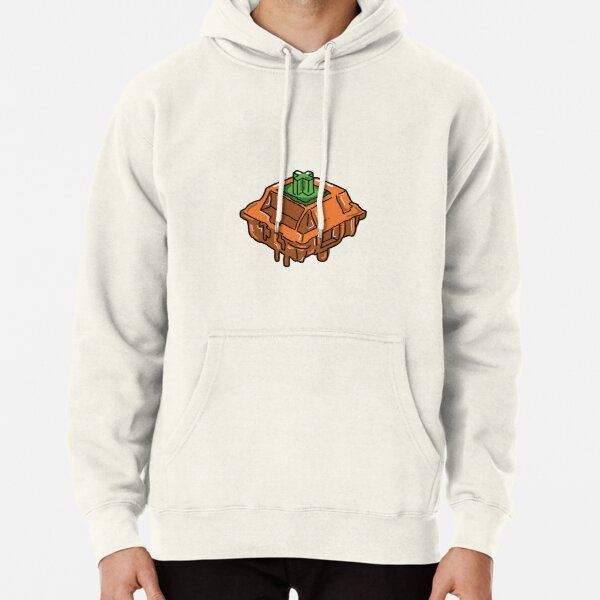 Tangerine Switch Pullover Hoodie