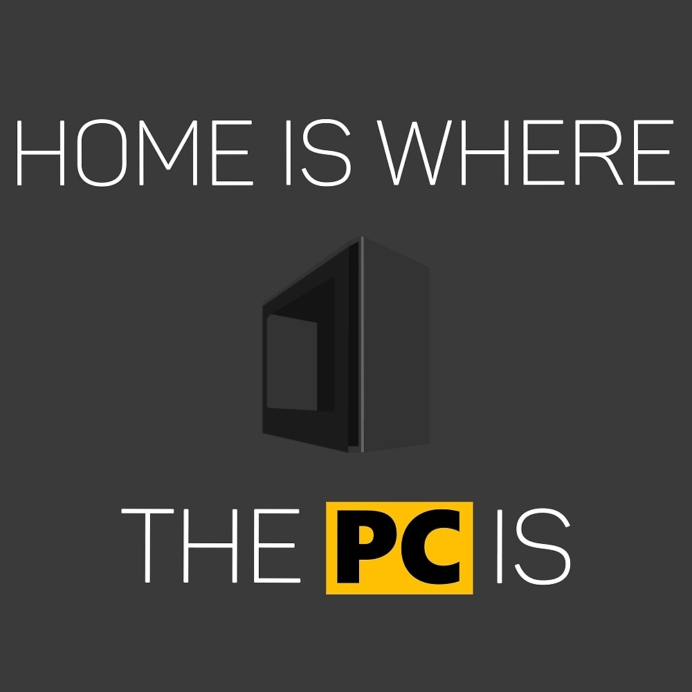 Home is where the PC is - Light by SZTECH